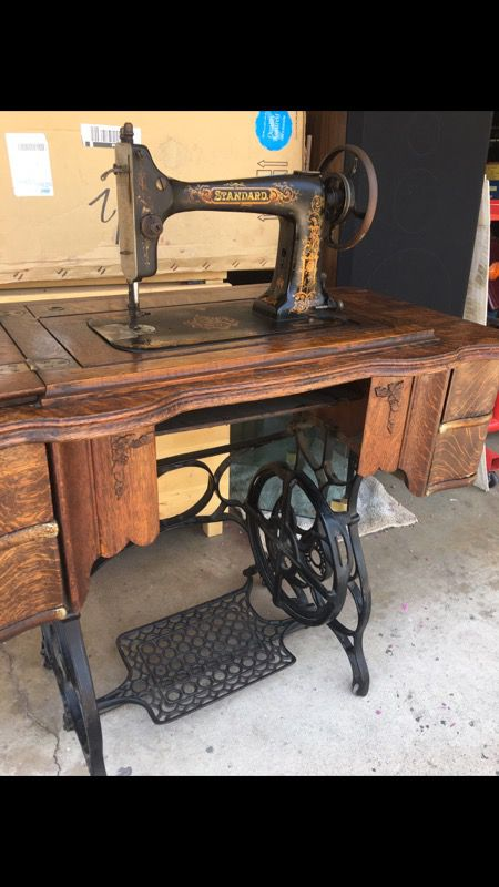 Antique Standard Rotary Sewing Machine For Sale In CA US OfferUp Mesmerizing Standard Sewing Machine
