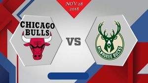 Milwaukee Bucks vs Chicago Bulls - NOV 28,2018 for Sale in Detroit, MI