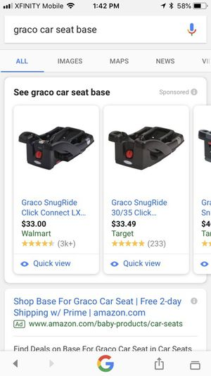 BRAND NEW Graco Infant Car Seat Base For Sale In Mechanicsburg PA