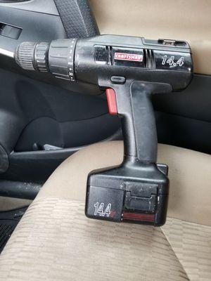 Craftsman 14.4 drill for Sale in Chicago, IL