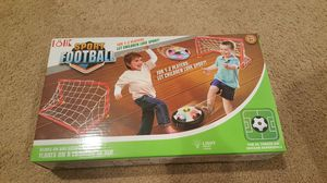New! Hover ball air soccer disk with 2 gates for Sale in Herndon, VA