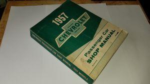 1957 Chevrolet Passenger Car Shop Manual for Sale in US