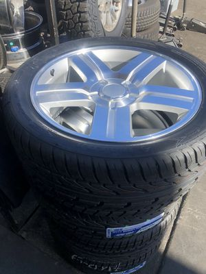 22 Texas edition rims and tires for Sale in East Los Angeles, CA