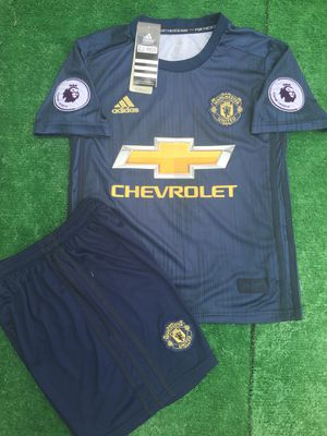 1ce89c574 2018 19 Manchester United 3rd kit soccer jersey size S kids for Sale in  Raleigh