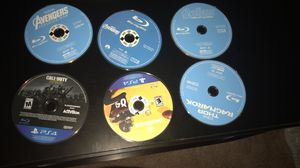 Marvel Movies and PS4 games for Sale in Ashburn, VA