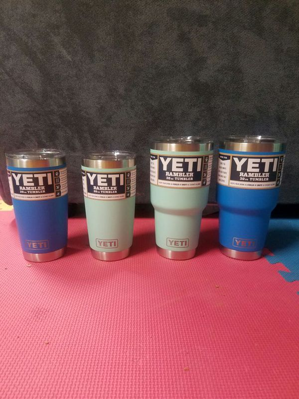 New Yeti Duracoat 20 & 30 for Sale in Clayton, NC - OfferUp