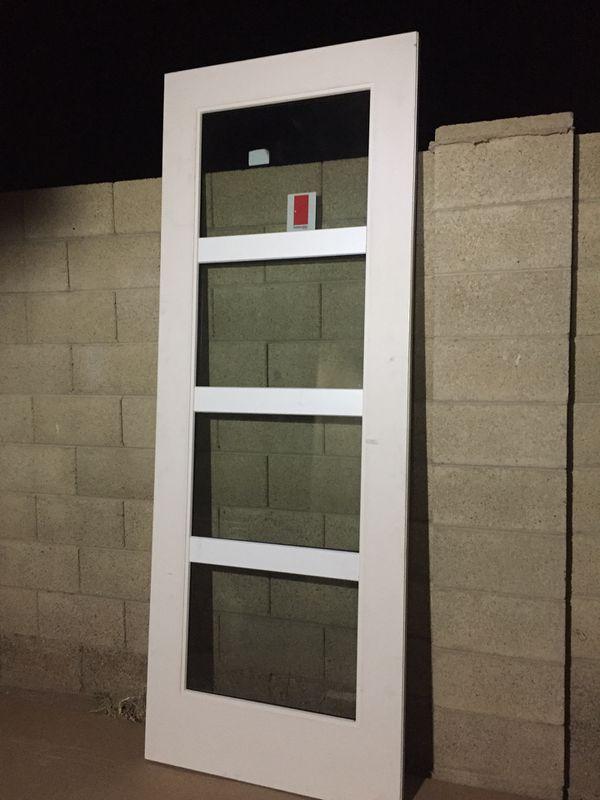 Exterior Front Doorback Doorpatio Door 4 Lite Designer Style For