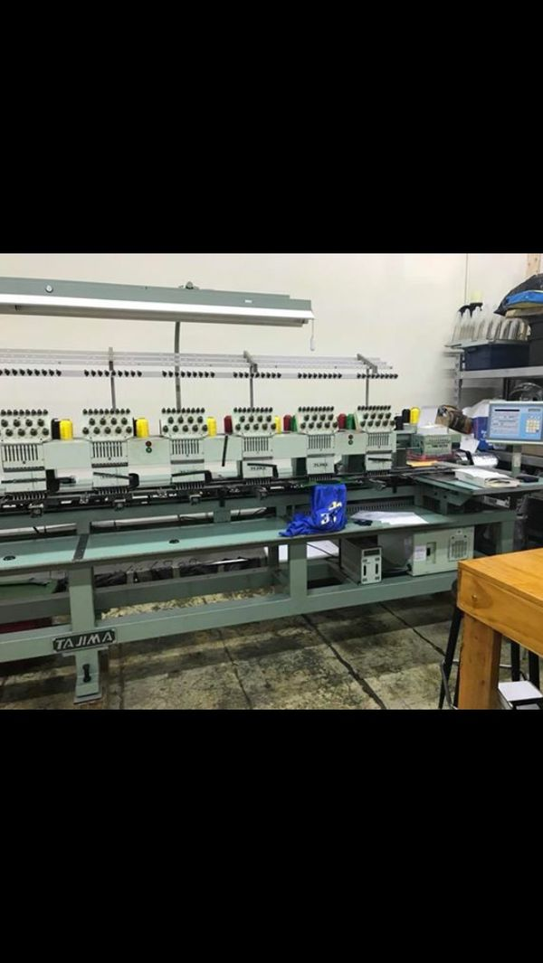 Tajima Embroidery Machine 12 Heads For Sale In Charlotte Nc Offerup