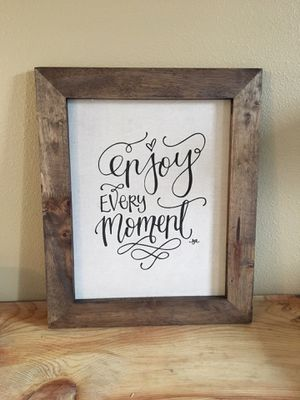 Enjoy every moment frame for Sale in Vancouver, WA