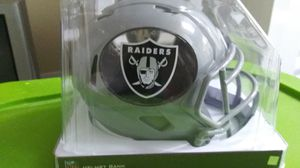 Raiders mini helmet for Sale in Hesperia, CA