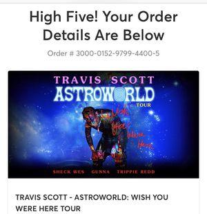 Travis Tickets for Sale in Detroit, MI