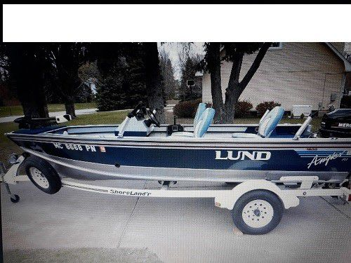 Original own 1993 Lund Angler 1600 DLX ➥ Details at: pamela48048@ gmaiL   com for Sale in Battle Creek, MI - OfferUp
