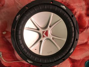 Photo Kicker cvr subwoofer speaker 10 inch