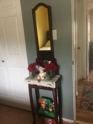 Table with mirror for Sale in Herndon, VA