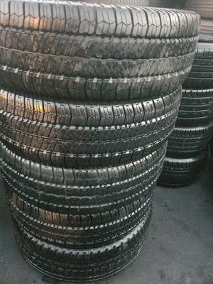Four set of Goodyear tires for sale 255/75/17 for Sale in Washington, DC