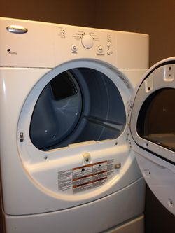 Whirlpool stackable washer&dryer Thumbnail