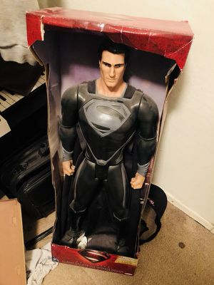 Man of steel Superman figure toy for Sale in Tolleson, AZ