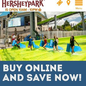 Hershey Park Tickets for Sale in Baltimore, MD