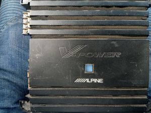 Alpine four channel amp for Sale in Washington, DC