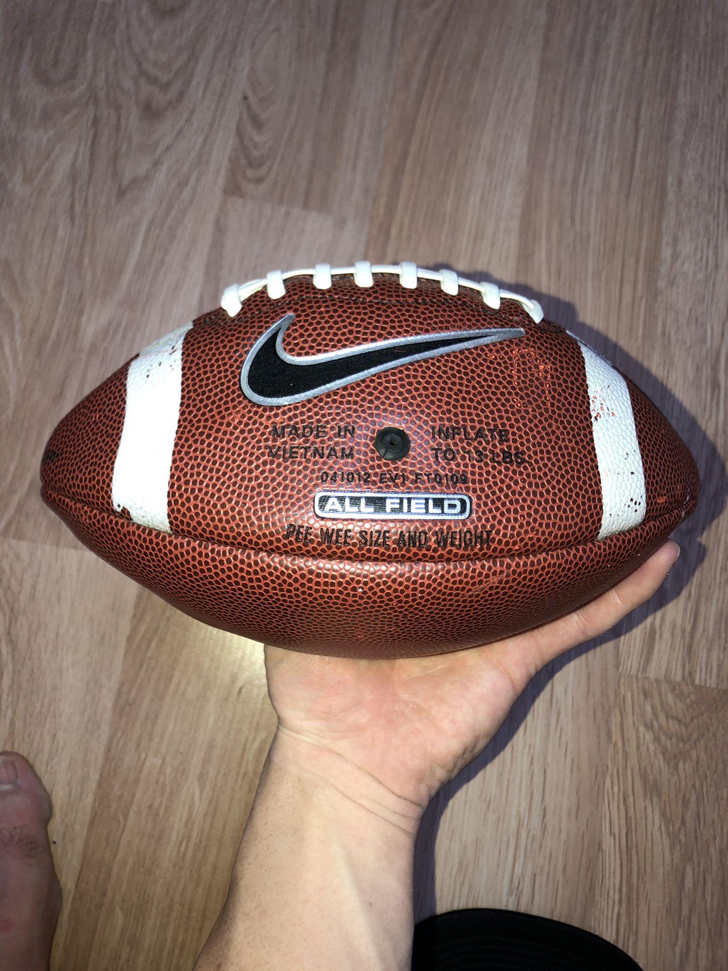 Youth sized kid football