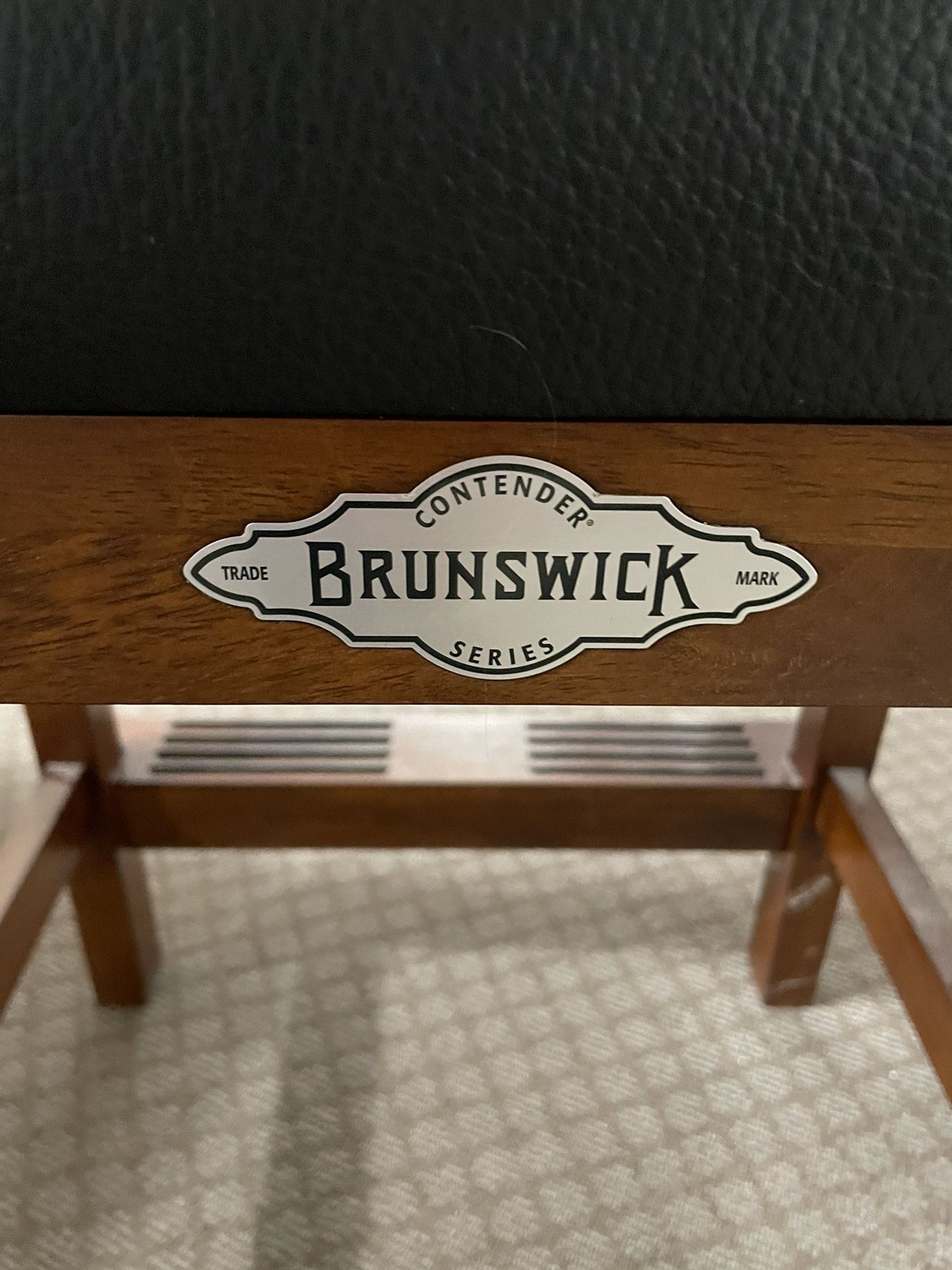 Brunswick Billiard Player's Chair