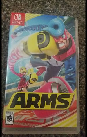 ARMS NINTENDO SWITCH GAME for Sale in Bellflower, CA