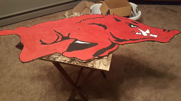 Razorback wall art (Arts & Crafts) in Paragould, AR - OfferUp