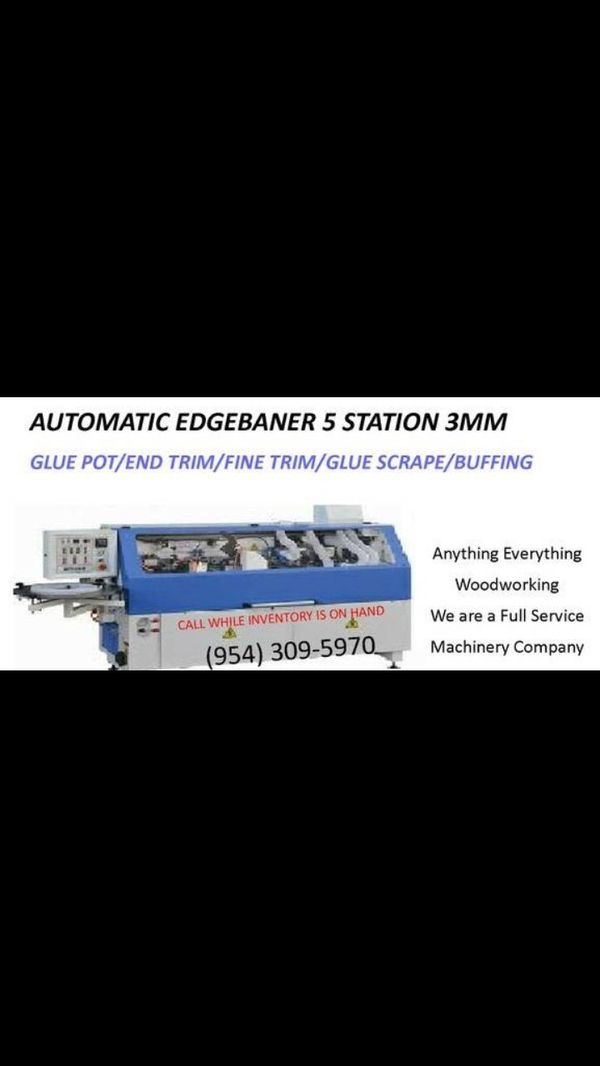edgebander panel saw cnc machinery on hand free delivery South Florida for  Sale in Miami, FL - OfferUp