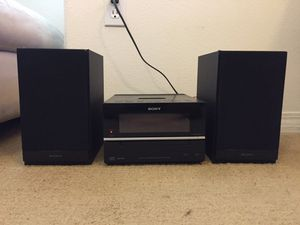 Sony CMT-BX20i Home Stereo System for Sale in Oxnard, CA