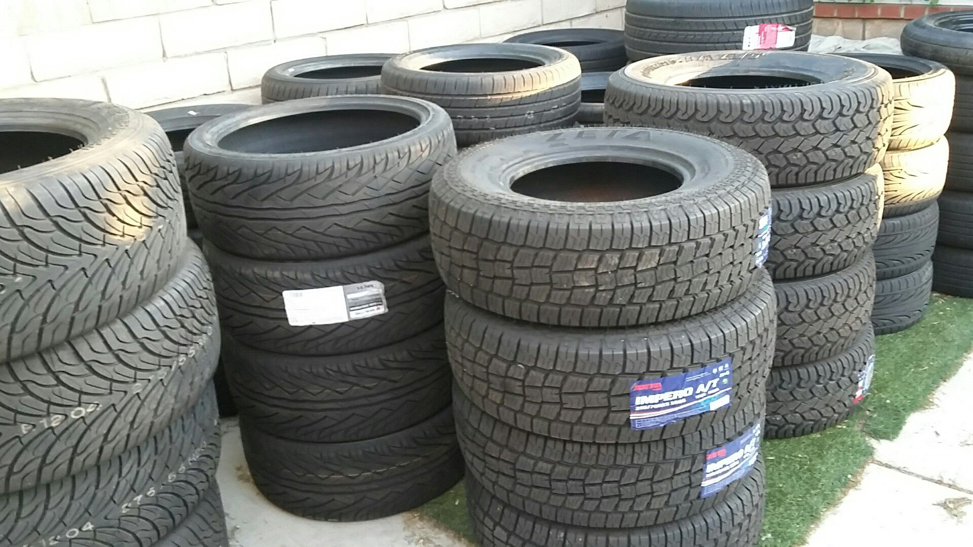 Tire sale. At Swatmeet 4 points. ..Used ..New..