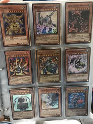 Yugioh binder rares pages 11-15 for Sale in Washington, MD