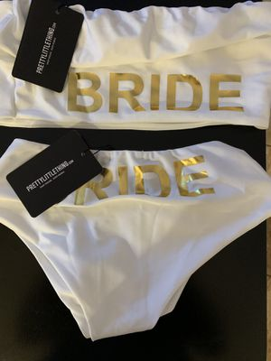 Bride swimwear/bathing suit top 16/bottom14 never worn with tags for Sale in Hollywood, FL