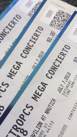 Mega Concierto Tickets for Sale in Cleveland, OH