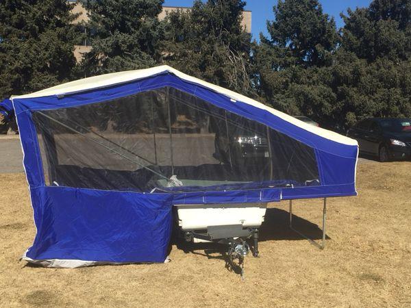 Aspen Mini Pop Up Camper