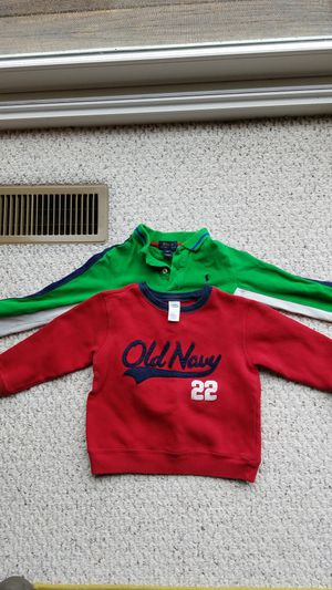 Size 4T Polo and Old Navy long-sleeve shirt for Sale in Harpers Ferry, WV