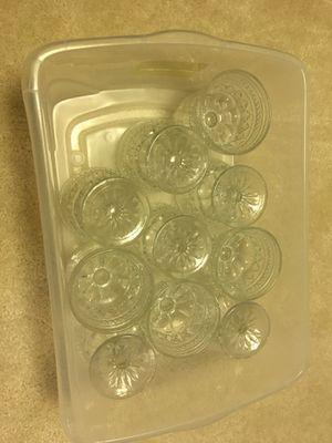10 Ice Cream / Dessert glass cups for Sale in Fairfax, VA