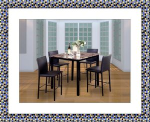High dining table with chairs free shipping for Sale in Marlow Heights, MD