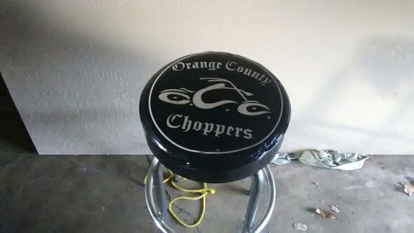 Orange County Chopper Bar Stool For Sale In Mattawan Mi Offerup