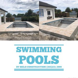 New swimming pool construction for Sale in Miami, FL