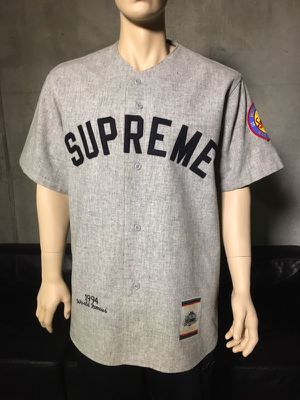 6a88593a0 RARE - Supreme x Mitchell & Ness Wool Jersey for Sale in Los Angeles, ...