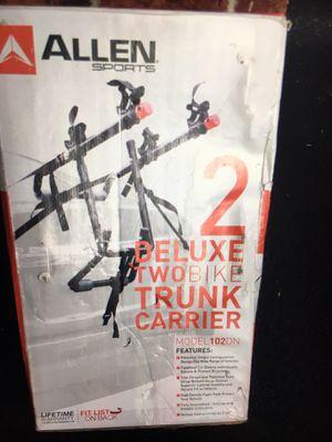 Photo Allen Deluxe two bike trunk carrier