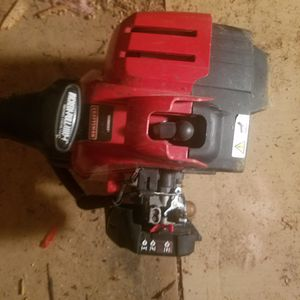 Crafts man weed eater with leaf blower and pole saw attach ments for Sale in Zirconia, NC