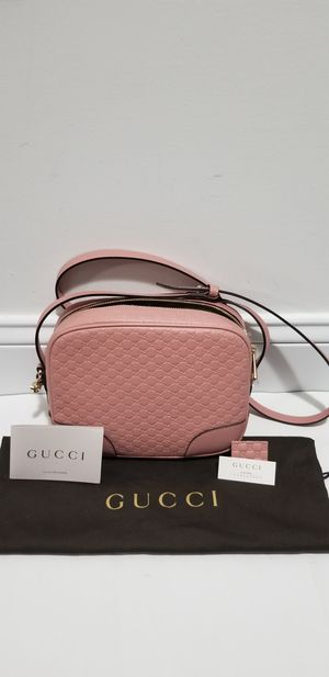e320e319121 SBrand New 100% Authentic Pink GG Womens Gucci Leather Messenger Cross Body Bag  Purse for Sale in Lowell
