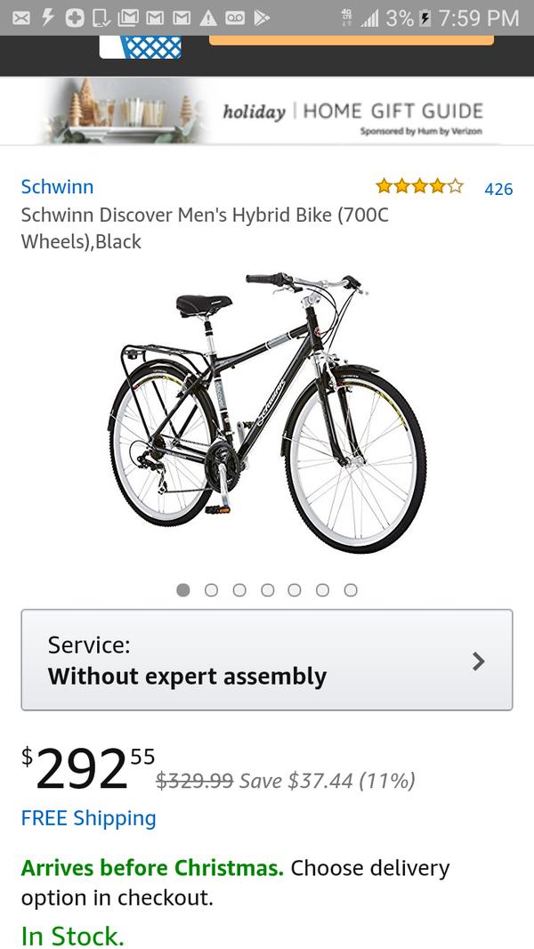 27807888a47 SCHWINN DISCOVER HYBRID BIKE MODEL S5396 men's 700c wheels for Sale in  Walnut Creek, CA - OfferUp