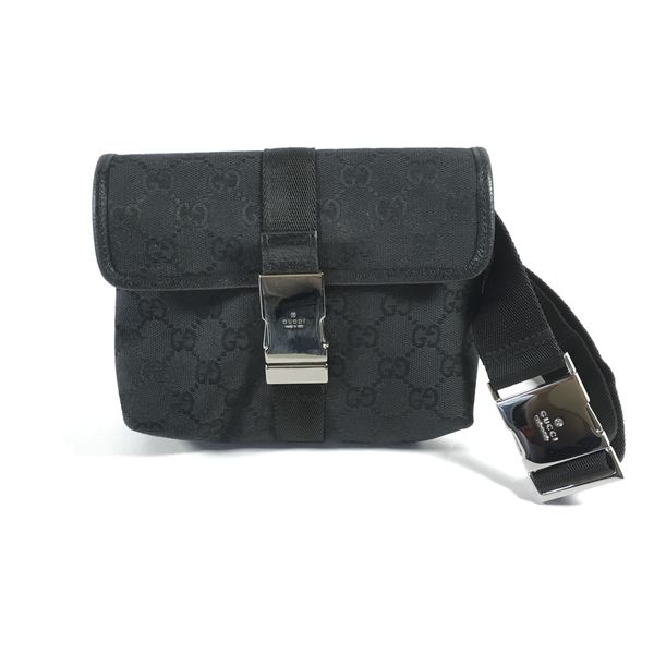 33d245774e63 Authentic Gucci Black Waist Bag for Sale in New York, NY - OfferUp