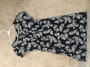 Cotton 100%, black and white ornament dress for Sale in Durham, NC