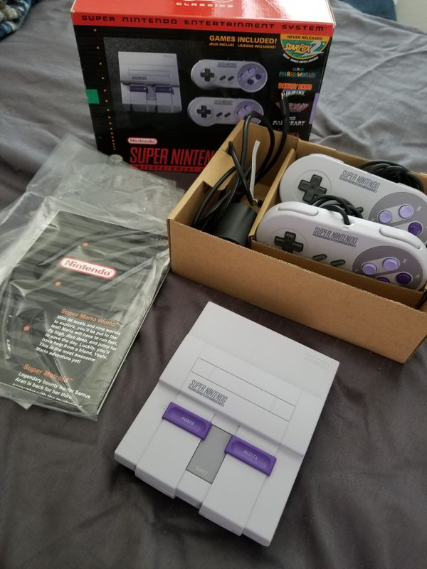 Nintendo Super NES Classic Edition for Sale in Hayward, CA - OfferUp
