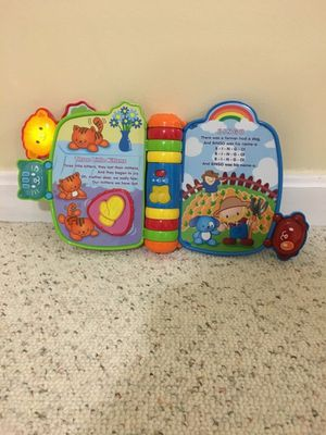 Light up Vtech story book for Sale in Germantown, MD