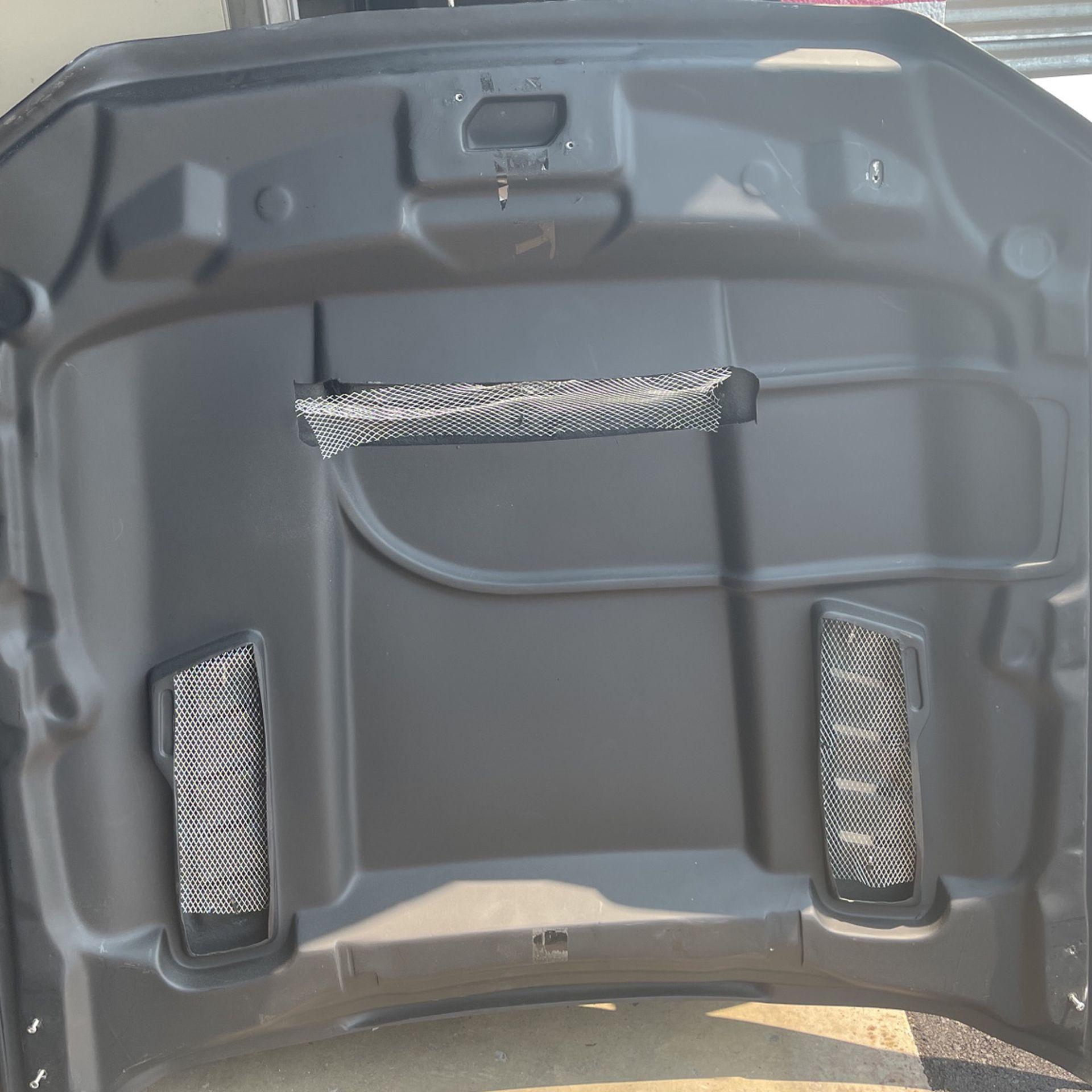 2012 Mustang Hood Plastic With Added Hood Scoop