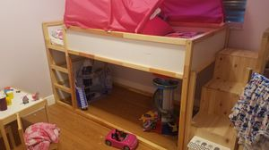 Ikea loft bed and storage stairs for Sale in Miami, FL